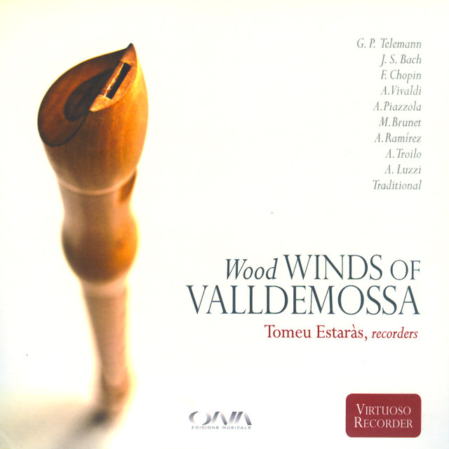 CD: Wood of winds of Valldemossa, de Tomeu Estaràs